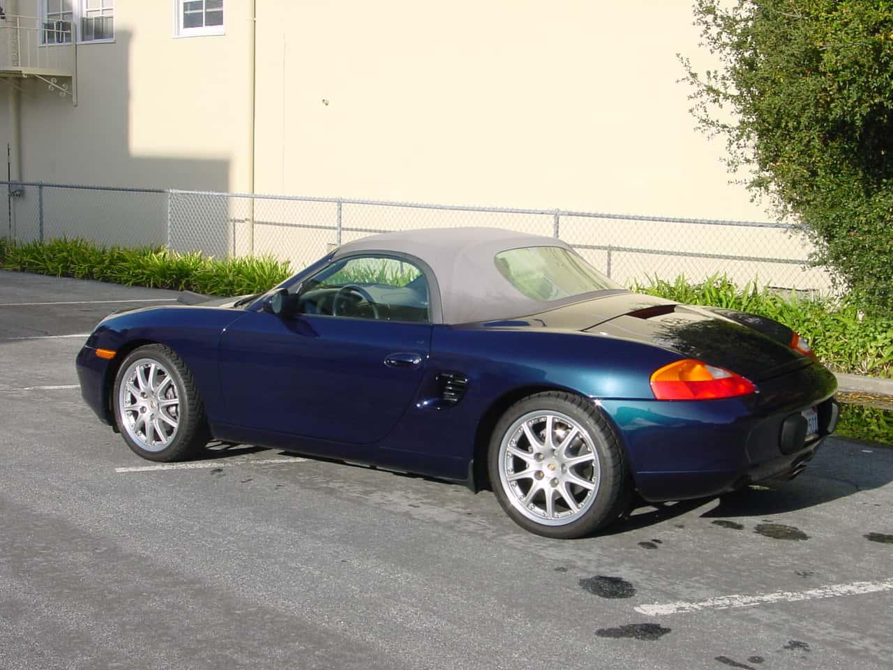 Sandy's Porsche Boxter sold by CMG AIR